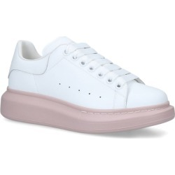 Alexander Mcqueen Leather Runway Contrast Sneakers found on Bargain Bro from Harrods Asia-Pacific for USD $414.66