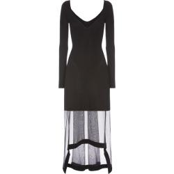 Alexander McQueen Knitted Sheer-Skirt Dress found on Bargain Bro UK from harrods.com