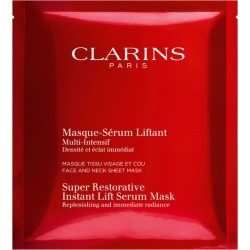 Clarins Super Restorative Instant Lift Serum Mask Pack Of 5 (5 x 30 ml) found on Bargain Bro UK from harrods.com