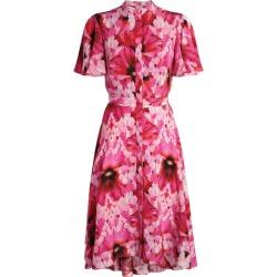 Alexander McQueen Endangered Flower Print Midi Dress found on Bargain Bro UK from harrods.com