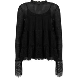 AllSaints Briella Lace Top found on Bargain Bro UK from harrods.com