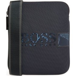 Boss Botanical Print Logo Cross-Body Bag found on GamingScroll.com from Harrods Asia-Pacific for $131.12