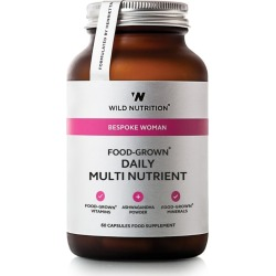 Wild Nutrition Bespoke Woman Food-Grown Daily Multi Nutrient (60 Capsules) found on Bargain Bro UK from harrods.com
