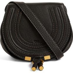 Chloé Mini Leather Marcie Saddle Bag found on Bargain Bro UK from harrods.com
