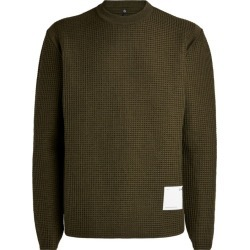 Oamc Waffle-Knit Sweater found on Bargain Bro India from Harrods Asia-Pacific for $651.99