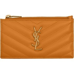 Saint Laurent Monogram Zip-Up Card Holder found on GamingScroll.com from Harrods Asia-Pacific for $353.91