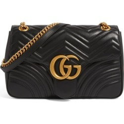 Gucci Medium Leather Marmont Matelassé Shoulder Bag found on MODAPINS from harrods.com for USD $2237.35