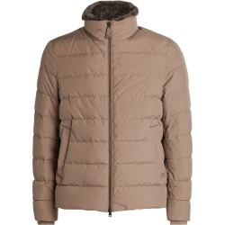 Herno Padded Beaver Fur-Trim Jacket found on MODAPINS from harrods.com for USD $956.36