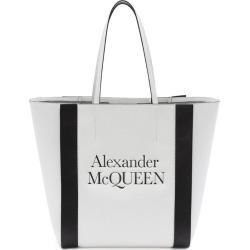 Alexander McQueen Leather Signature Shopper Bag found on Bargain Bro UK from harrods.com