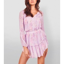 LoveShackFancy Popover Floral Dress found on MODAPINS from harrods.com for USD $499.73
