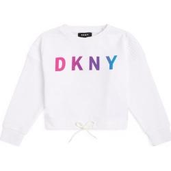 DKNY Logo Graphic Drawstring Sweatshirt found on Bargain Bro UK from harrods.com