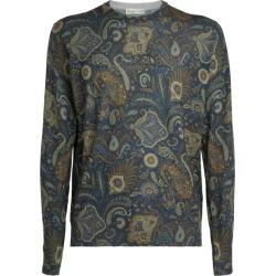 Etro Paisley Silk-Cashmere Sweater found on Bargain Bro UK from harrods.com