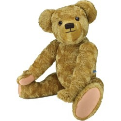 Merrythought Edward Teddy Bear (100cm) found on Bargain Bro UK from harrods.com