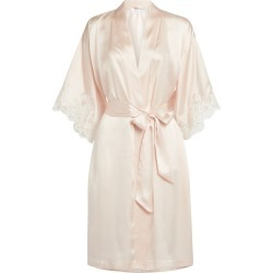 Lise Charmel Lace-Trim Robe found on MODAPINS from harrods.com for USD $264.82