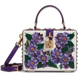 Dolce & Gabbana Padlock Floral Top Handle Bag found on Bargain Bro UK from harrods.com