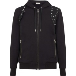 Alexander McQueen Studded Cotton Hoodie found on Bargain Bro UK from harrods.com