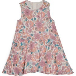 Chloé Kids Floral Swing Dress found on MODAPINS from harrods.com for USD $118.38