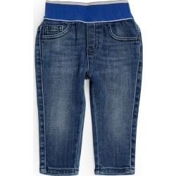 Emporio Armani Kids Logo-Waistband Jeans (6-36 Months) found on Bargain Bro UK from harrods.com