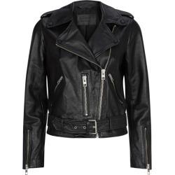 AllSaints Leather Balfern Biker Jacket found on MODAPINS from harrods.com for USD $295.40