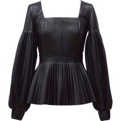 Huishan Zhang Dusty Pleated Top found on MODAPINS from harrods.com for USD $422.32