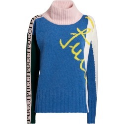 Emilio Pucci Logo Rollneck Sweater found on MODAPINS from harrods (us) for USD $658.00