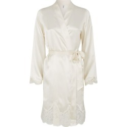 Aubade Silk Lace Robe found on MODAPINS from harrods.com for USD $219.16