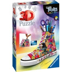 Trolls Trolls 2 World Tour: Sneaker 3D Jigsaw Puzzle (108 Pieces) found on Bargain Bro India from Harrods Asia-Pacific for $19.55