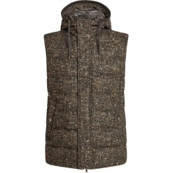 Herno Padded Boucle Hooded Gilet found on MODAPINS from harrods.com for USD $889.32