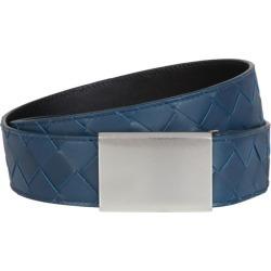 Bottega Veneta Intrecciato Leather Belt found on Bargain Bro UK from harrods.com