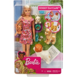 Barbie Doggy Daycare Trainer Doll found on Bargain Bro UK from harrods.com