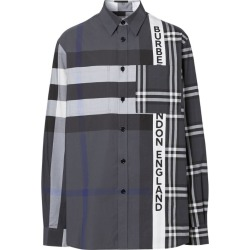 Burberry Patchwork Check Print Shirt found on GamingScroll.com from Harrods Asia-Pacific for $637.82