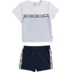 Boss Kidswear Logo T-Shirt And Shorts Set (1-12 Months) found on GamingScroll.com from Harrods Asia-Pacific for $81.75