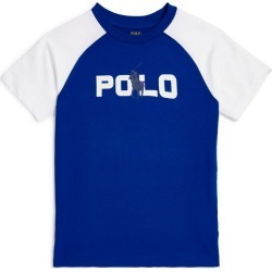 Ralph Lauren Kids Contrast-Sleeved Logo T-Shirt (5-7 Years) found on Bargain Bro from Harrods Asia-Pacific for USD $42.31