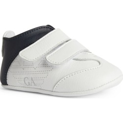 Emporio Armani Kids Leather Logo Sneakers found on Bargain Bro UK from harrods.com