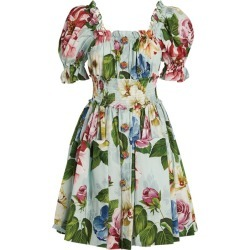 Dolce & Gabbana Floral Smock Dress found on MODAPINS from harrods.com for USD $1878.70
