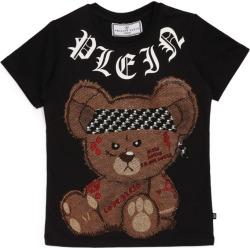 Philipp Plein Junior Rhinestone Teddy Bear T-Shirt found on Bargain Bro India from Harrods Asia-Pacific for $167.48