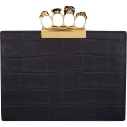 Alexander McQueen Jewelled Four-Ring Pouch found on Bargain Bro UK from harrods.com