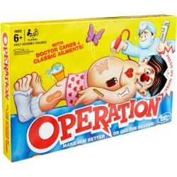Hasbro Games Classic Operation Game found on Bargain Bro India from Harrods Asia-Pacific for $31.14