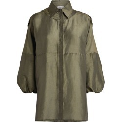 Gabriela Hearst Linen-Silk Camilla Shirt found on MODAPINS from Harrods Asia-Pacific for USD $1336.20