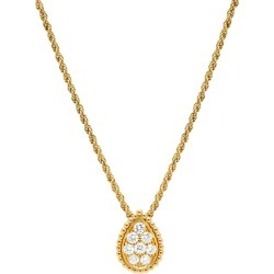 Boucheron Yellow Gold and Diamond Serpent Bohème Pendant found on MODAPINS from harrods.com for USD $6111.37