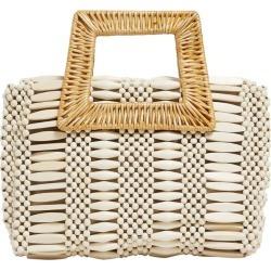 Aranaz Cerise Woven Bag found on MODAPINS from harrods.com for USD $260.91