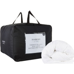 Harrods of London Thermal Balance Double Mattress Protector (135cm x 190cm) found on Bargain Bro UK from harrods.com
