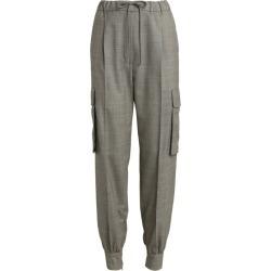 Max Mara Drawstring Wool Trousers found on Bargain Bro UK from harrods.com