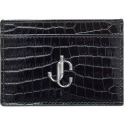 Jimmy Choo Croc-Embossed Leather Umika Card Holder found on Bargain Bro from harrods.com for £196