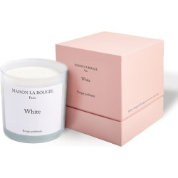 Maison La Bougie White Candle (1.4kg) found on Bargain Bro from harrods.com for £136
