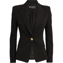Balmain Single-Breasted Blazer found on Bargain Bro UK from harrods.com