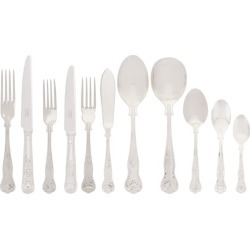 Carrs Silver Kings Stainless Steel 124-Piece Cutlery Set found on Bargain Bro from Harrods Asia-Pacific for USD $1,320.80