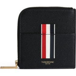 Thom Browne Leather Zip Wallet found on Bargain Bro UK from harrods.com