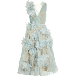 Marchesa Textured Midi Dress found on MODAPINS from harrods (us) for USD $5522.00
