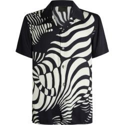 Limitato Short-Sleeved Zebra Print Shirt found on MODAPINS from harrods.com for USD $428.80